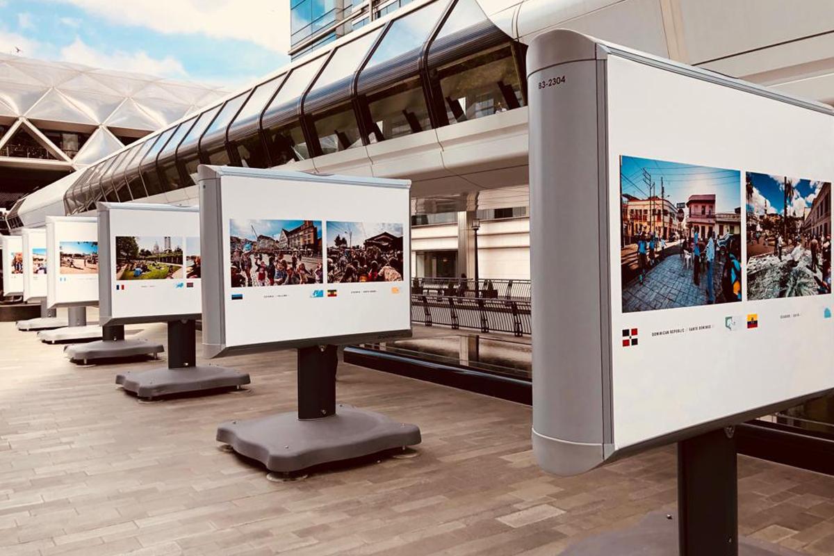 Kings Design Schapenleren Bank.Streets Of The World Streets Of The World Tour At Canary Wharf